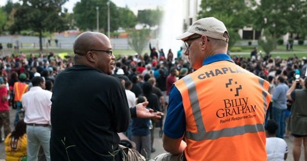Photo of Charlotte pastors counter hurt and anger with prayer
