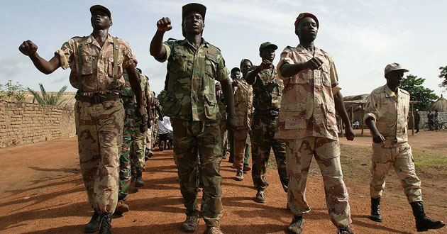 Rebels in northern Central African Republic