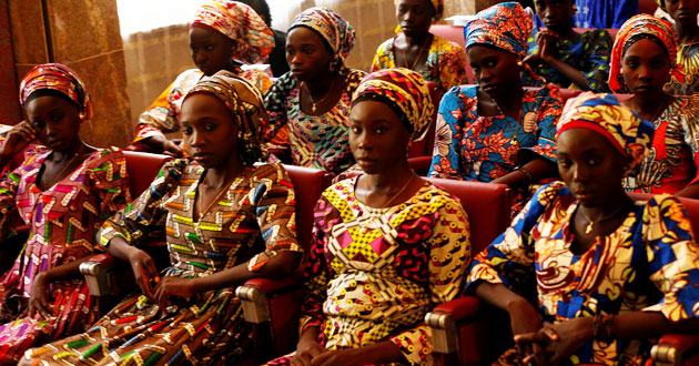 Photo of Chibok girls freed by Nigeria's Boko Haram risk rejection back home