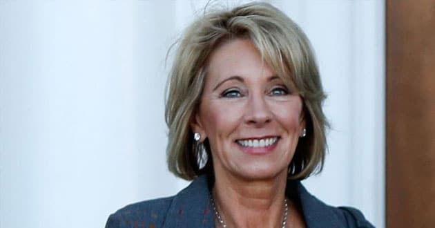 Photo of Betsy DeVos Talks Education Choice and How Faith Is the 'Basis for All She Does'