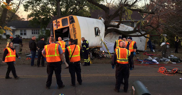 chool bus crash involving several fatalities in Chattanooga, Tennessee