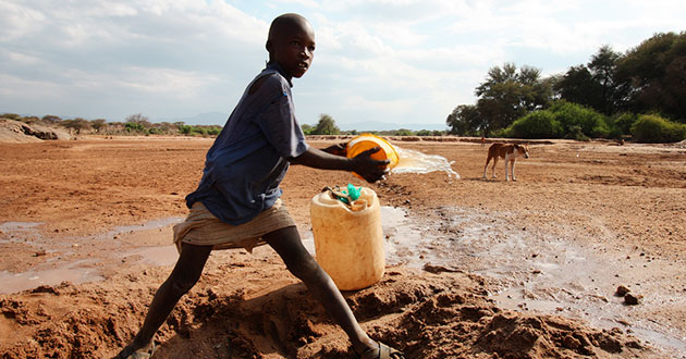Photo of Severe drought brings starving Kenyans to church doorsteps