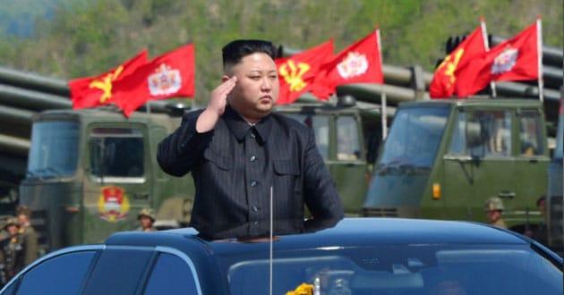 North Korea test-fires ballistic missile