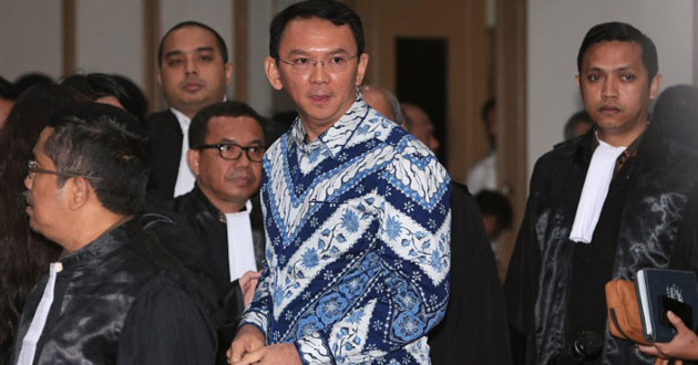 Photo of Jakarta's Christian governor imprisoned for blasphemy against Islam