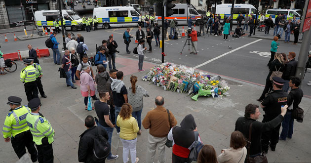 Photo of London victims speechless with shock