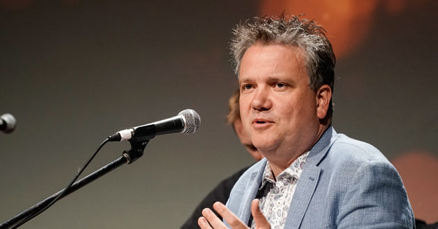 Modern hymn writer Keith Getty