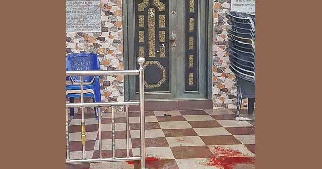 Photo of Christians killed, injured in church shooting in Nigeria