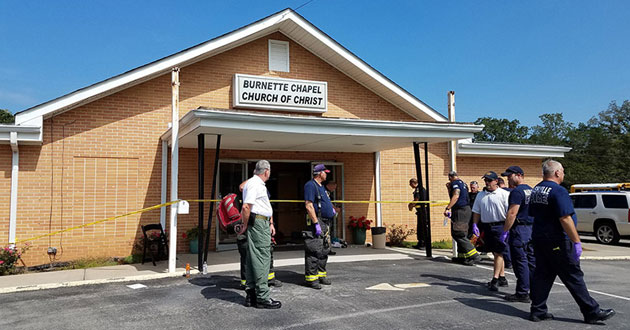 Shooting at the Burnette Chapel Church of Christ