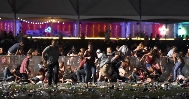 Photo of Las Vegas mass shooting: 'act of pure evil'