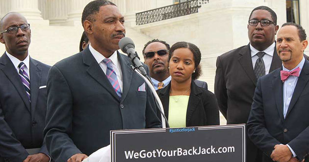Photo of 'We got your back, Jack,' conservative black clergy tell baker who refused gay couple