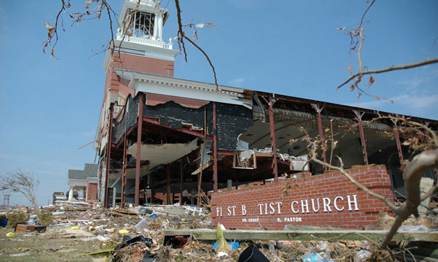 Photo of Bill that would allow churches to receive FEMA aid advances in Congress