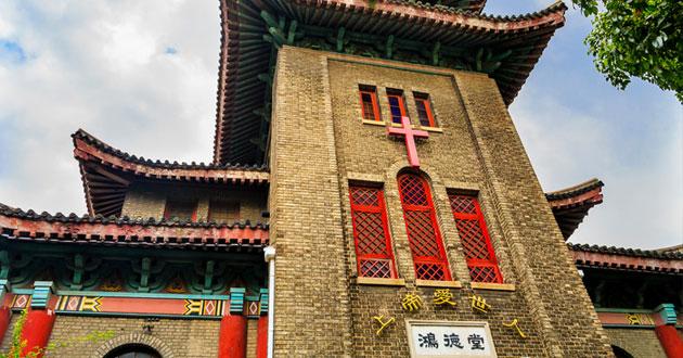 Photo of China's faith-friendly facade