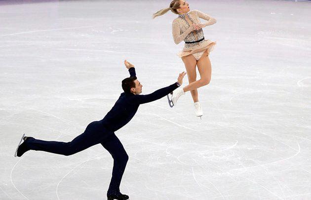 Chris Knierim and Alexa Scimeca Knierim