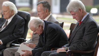 Photo of Graham and American presidents shared personal bonds