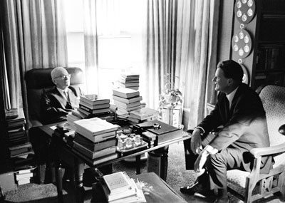 Billy Graham and Harry Truman