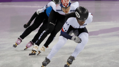 Photo of Speed skater Maame Biney: First U.S. black woman in her sport
