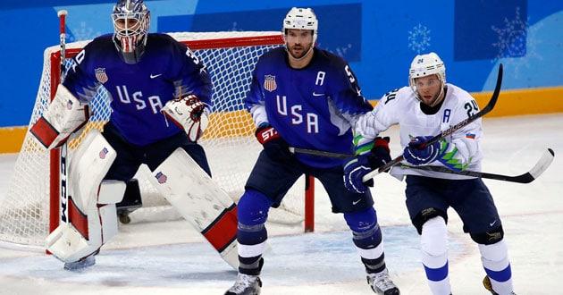 Noah Welch on the U.S. Olympics hockey team