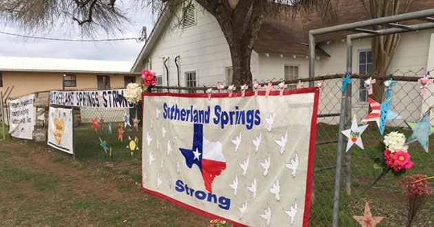 First Baptist Church in Sutherland Springs