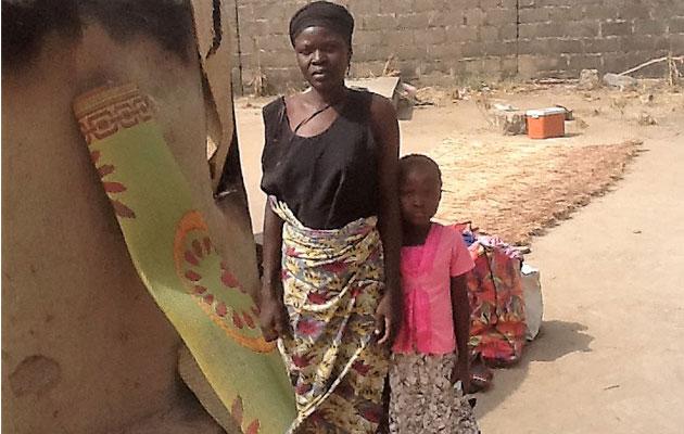 Nigerian Christian woman returns home