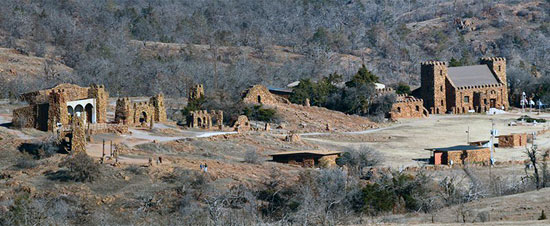 The Holy City of the Wichitas at Wichita Mountains