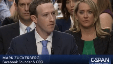 Photo of Zuckerberg stirs discussion of privacy, censorship