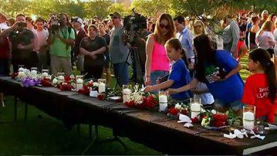 Photo of 'Broken and hurting' Santa Fe seeks hope, healing