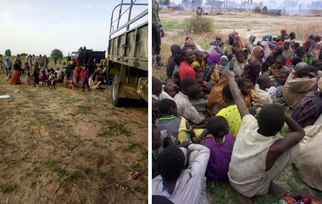 150 hostages held by Boko Haram were freed
