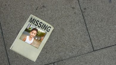 "Photo of 1,500 ""missing"" children 