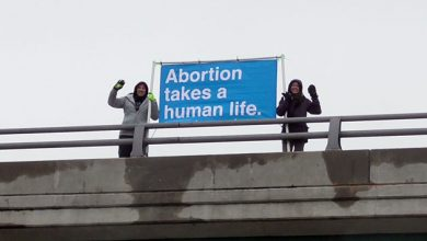 Photo of Advocates for life to hold banners on overpasses in 50 cities