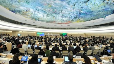 Photo of UNHRC: Actions speak louder than words!