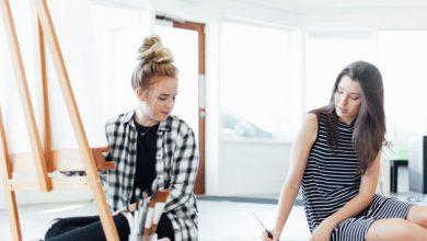 Joanna Duka and Breanna Koski, owners of Brush & Nib Studio