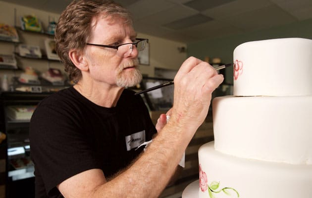 Cake artist Jack Phillips, owner of Masterpiece Cakeshop.