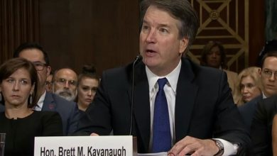 Photo of Panel OKs Kavanaugh, but delay urged for floor vote