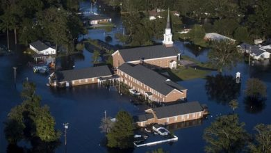 Photo of Churches in Hurricane Florence's path look to FEMA for a helping hand