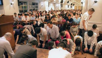 Photo of Chinese Christians pledge to 'stand strong' for their faith