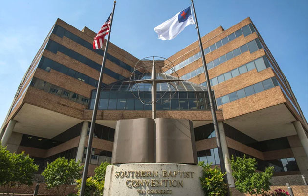 The Southern Baptist Convention headquarters in Nashville.