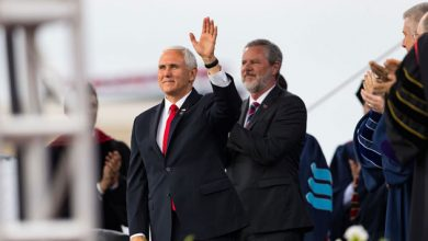 Photo of Vice President Pence to Liberty University grads: Stand firm in faith