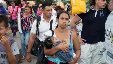 Photo of 'Hope-givers' reaching Venezuela refugees on brink of despair