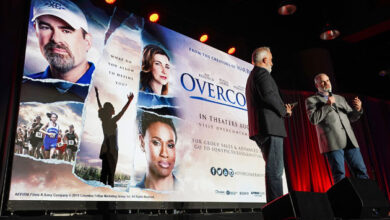 Photo of Kendricks on 'Overcomer': One saved 'better than 10' Oscars