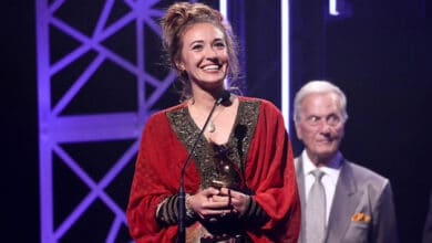 Photo of Lauren Daigle wins artist of the year at the 50th Dove Awards