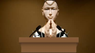 Photo of Robots in the pulpit?