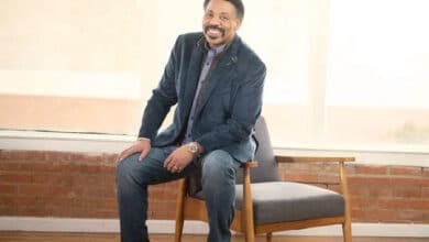 Photo of Tony Evans: On his new Bible and commentary, wife's health