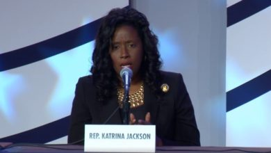 Photo of Pro-Life Democrat Katrina Jackson Partners with Save the Storks