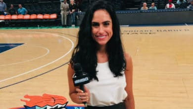 Photo of Basketball Broadcaster Julianne Viani Gives Glory to God